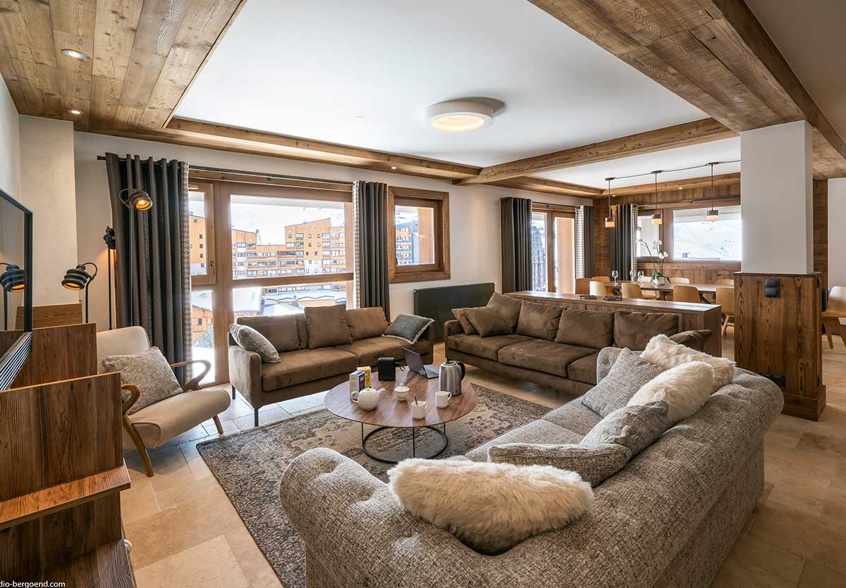 Location appartement plein Sud à Val Thorens