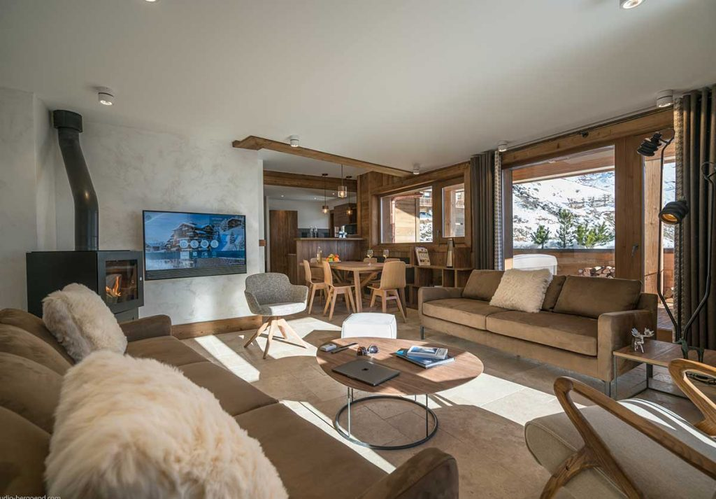 Appartement ski 8 personnes à Val Thorens