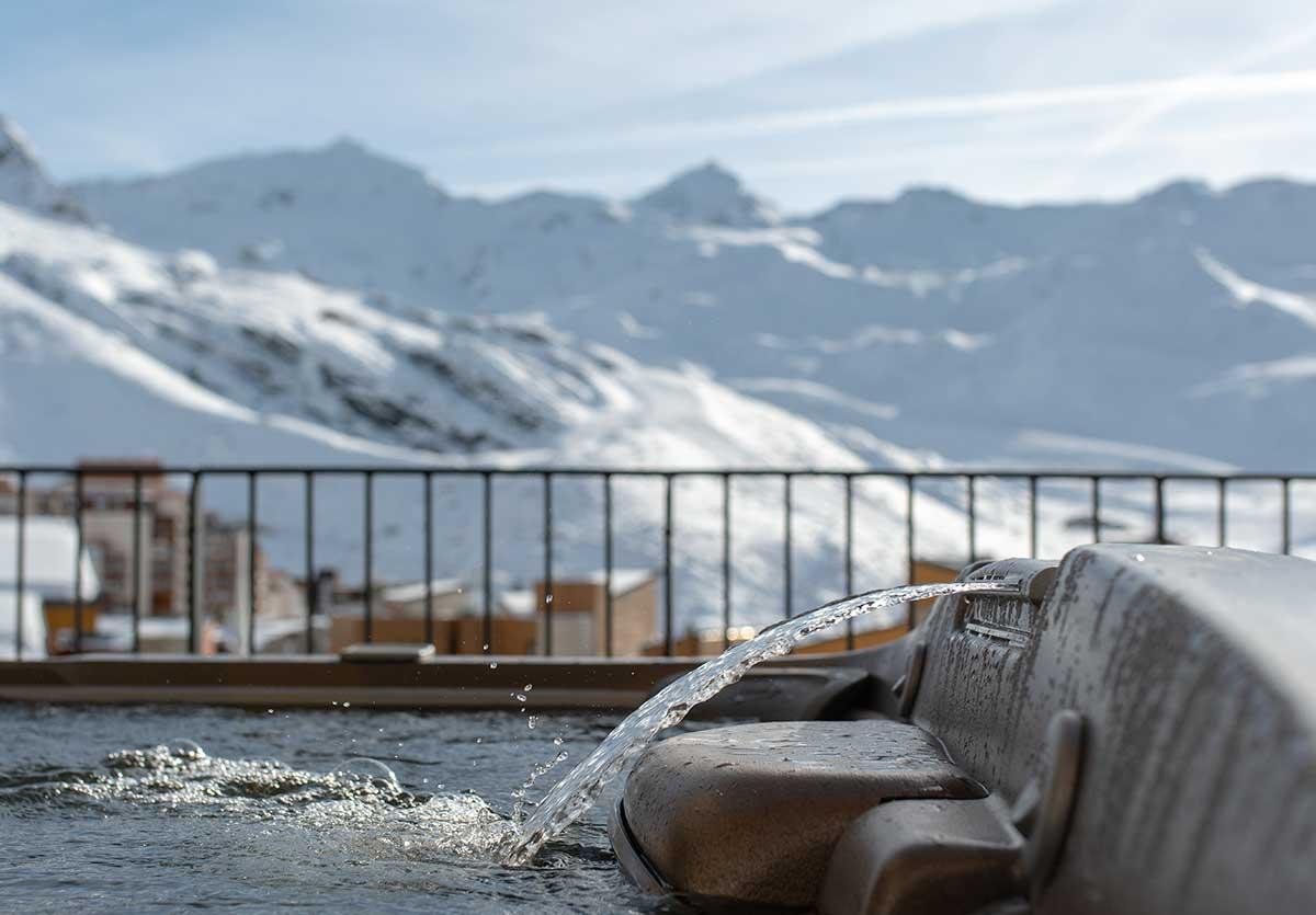 Location Ski 8 personnes avec jacuzzi à Val Thorens