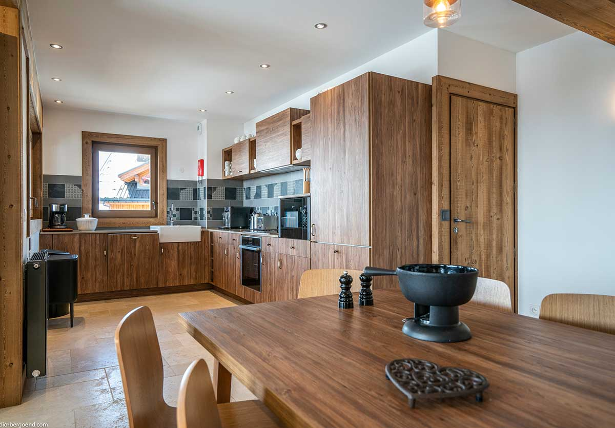 Cuisine appartement ski 8 personnes à Val Thorens