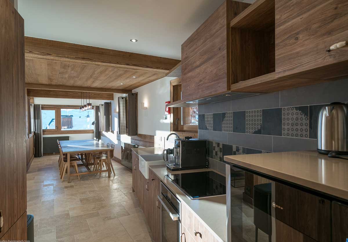 Location appartement ski 12 personnes à Val Thorens