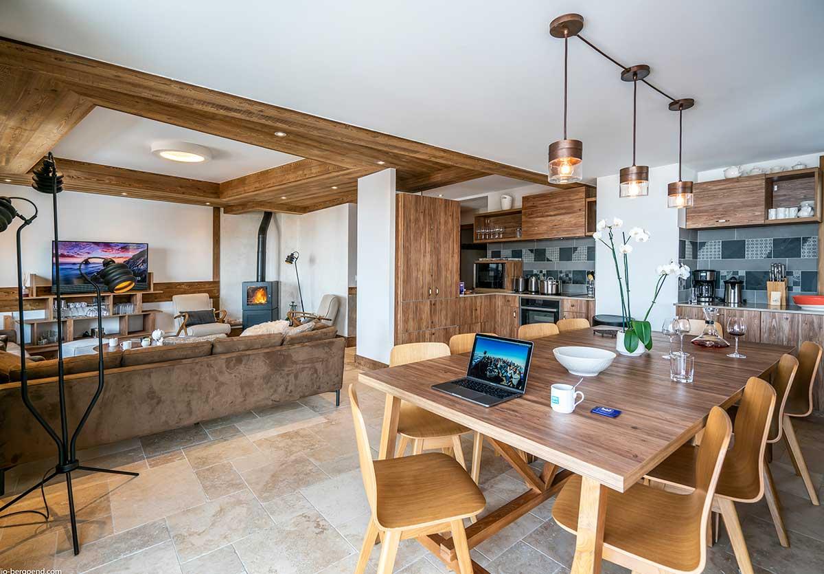 Location ski de luxe à Val Thorens pour 10 personnes