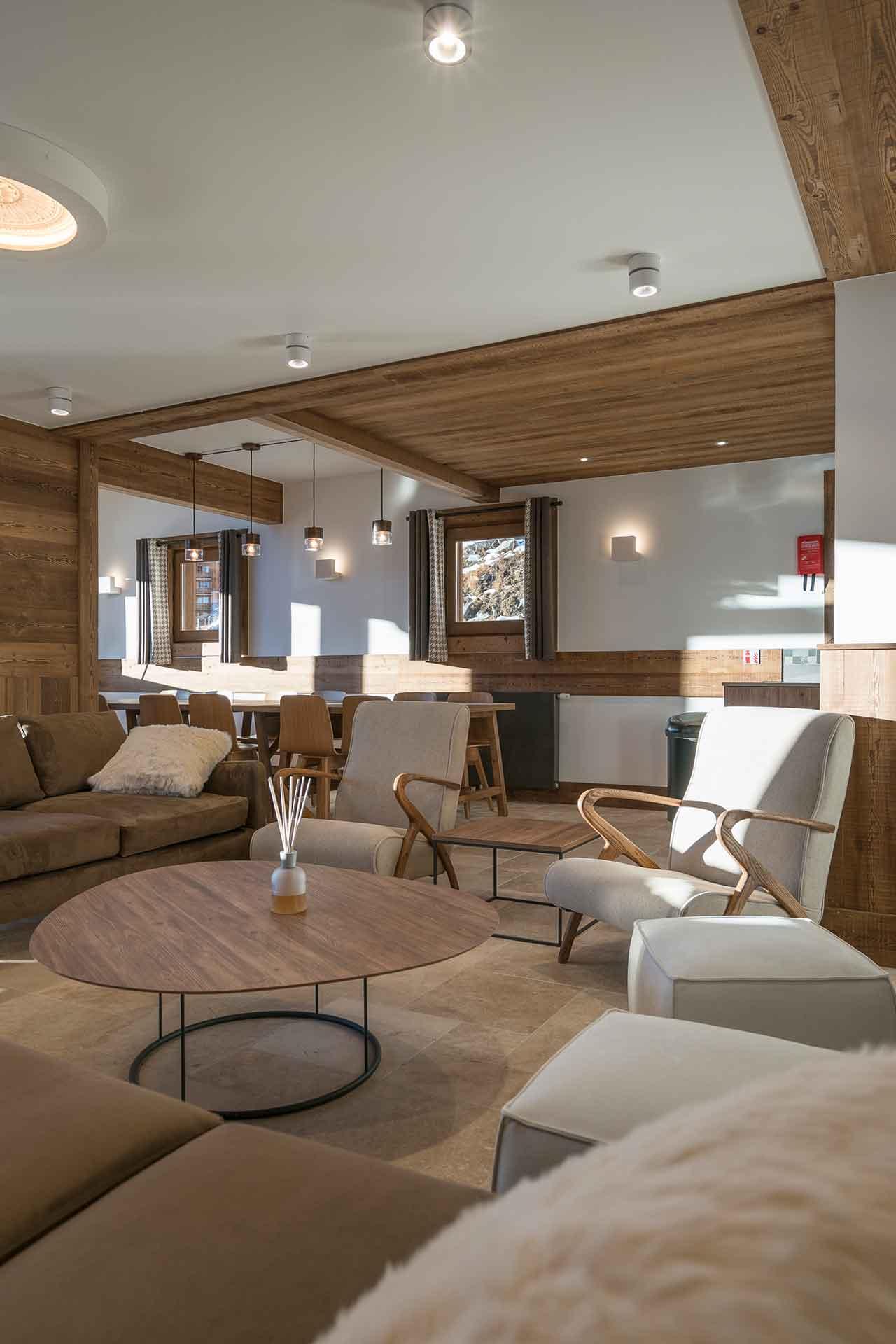 Séjour dans un appartement de luxe à Val Thorens